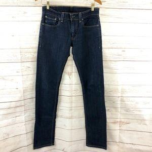 Levi's 511 Skinny Dark wash Jeans, EUC.